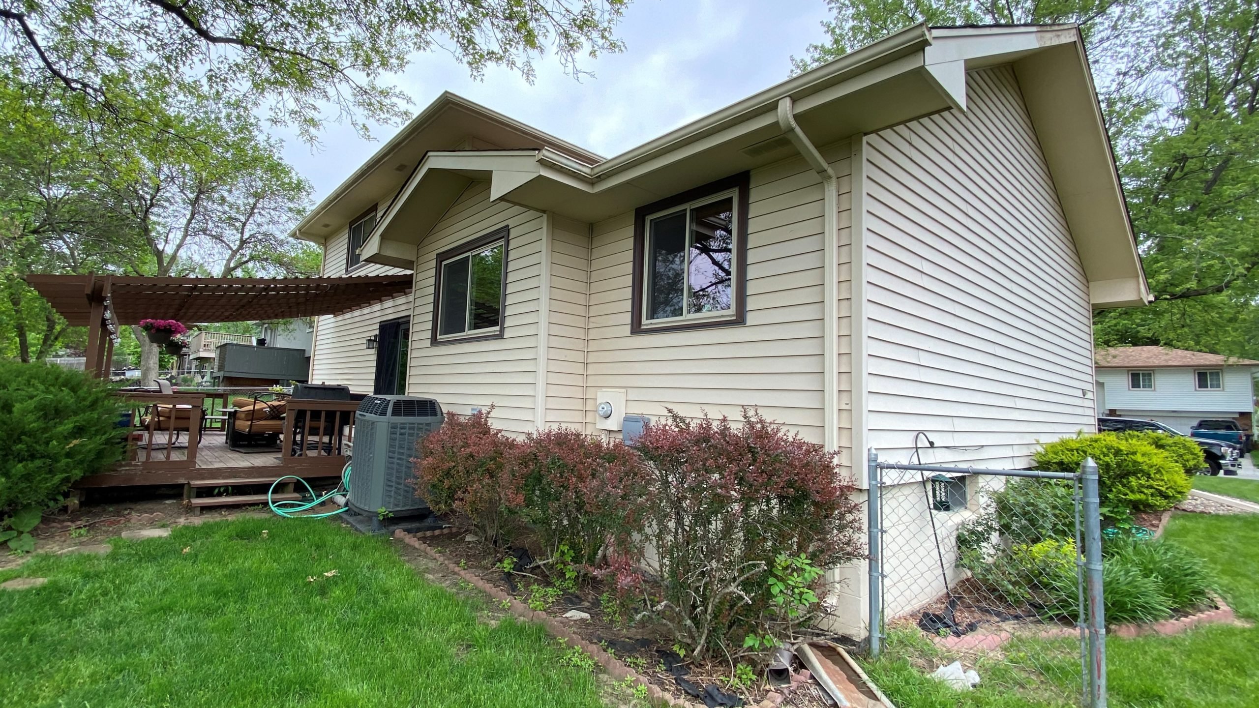 home without new siding