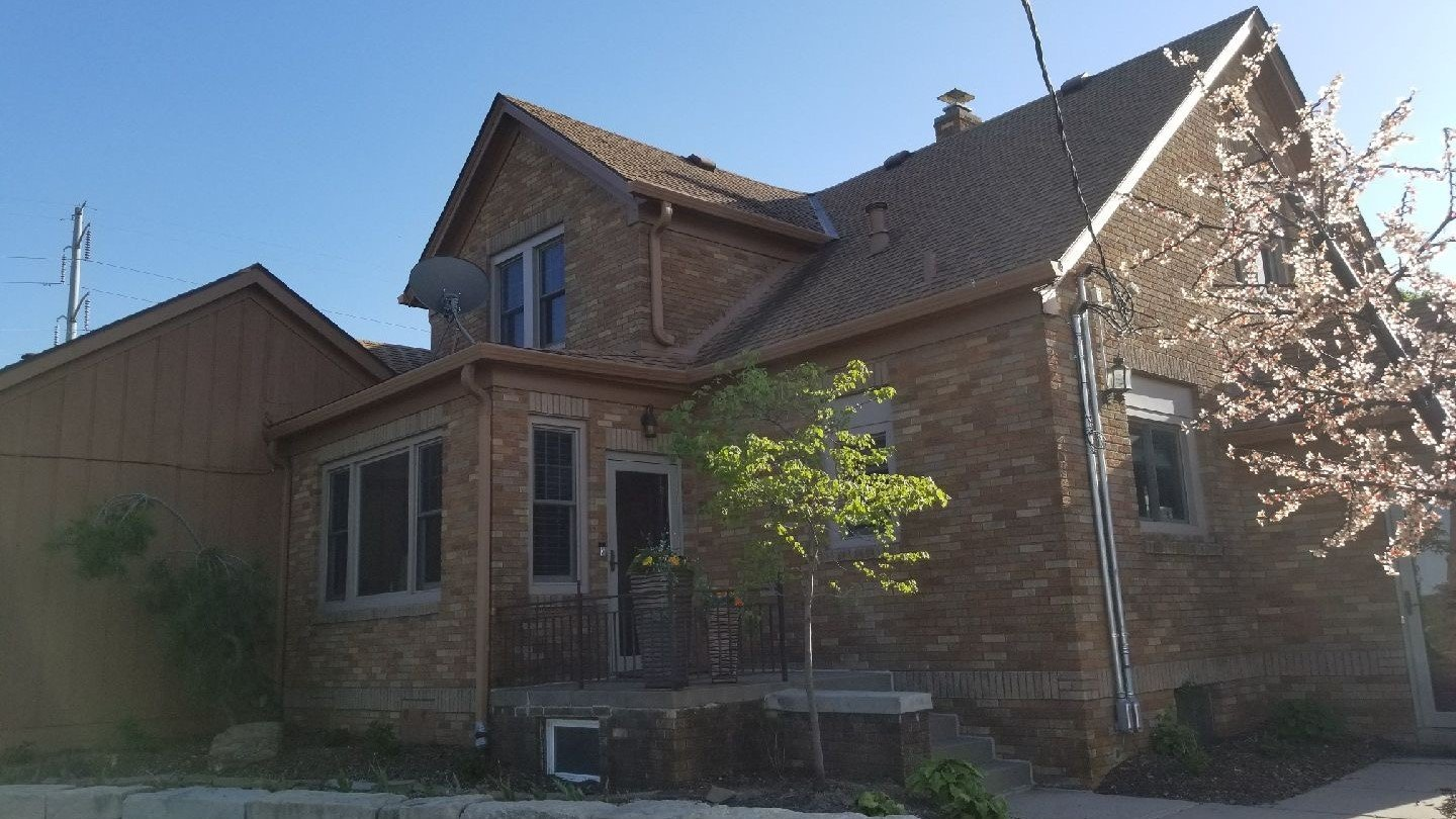 before of house in Omaha